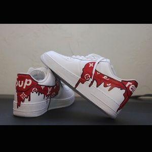 Nike Shoes Custom Air Force 1 Sneaker In Original Box Poshmark